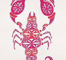 Pink Scorpion by Cat Coquillette