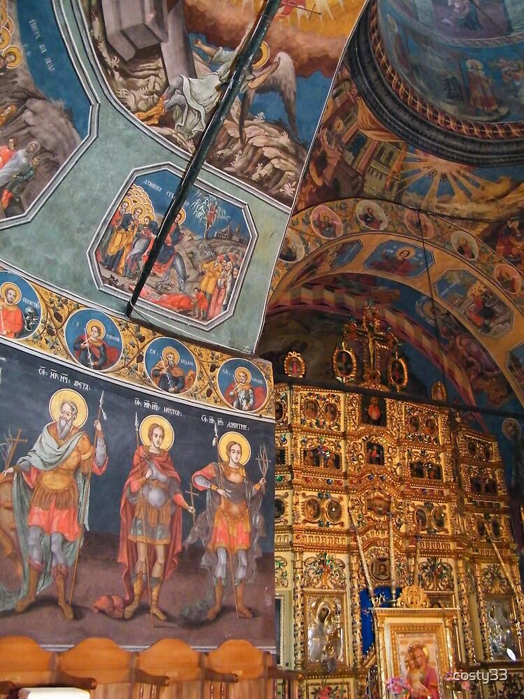 Inside of Cheia Monastery3 by costy33