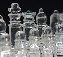 Chess King and Queen by Colin Bentham