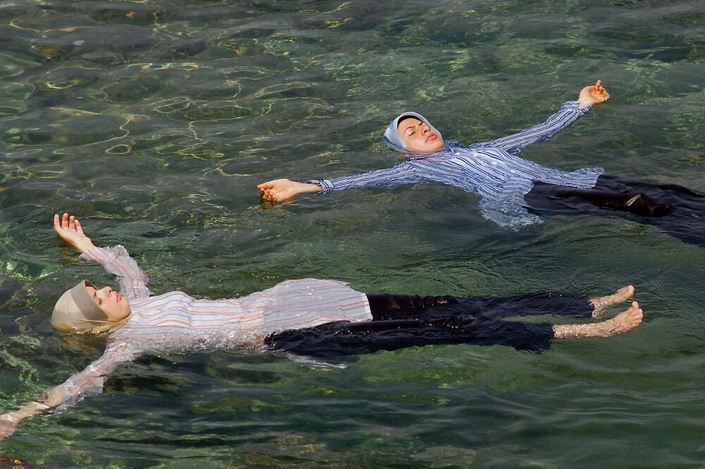 Floating Beirut by John Wreford