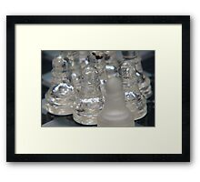Chess Following 2 Framed Print