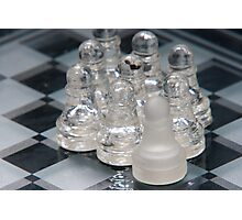 Chess Following Photographic Print