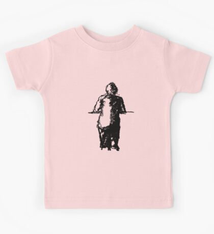 lonely man at the bar Kids Tee