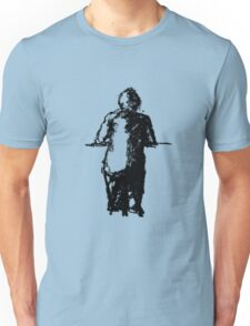 lonely man at the bar Unisex T-Shirt