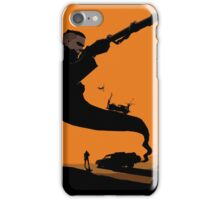 Mad Road - silhouette iPhone Case/Skin