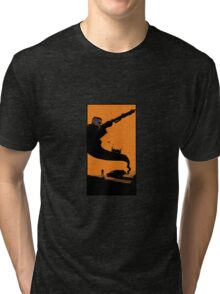 Mad Road - silhouette Tri-blend T-Shirt