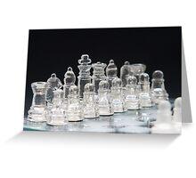 Chess 4 Greeting Card