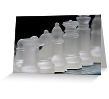 Chess 3 Greeting Card