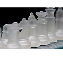Chess 3 Photographic Print