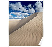 Sand Dunes Poster