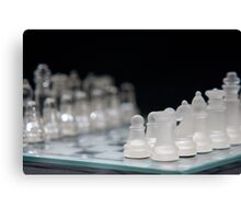 Chess 2 Canvas Print