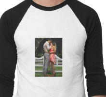 TeamRafael Men's Baseball ¾ T-Shirt