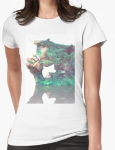 Tree man True Detective Womens Fitted T-Shirt