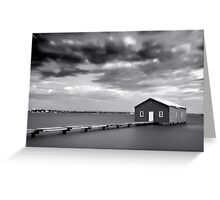 The Boathouse, Crawley Greeting Card