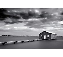 The Boathouse, Crawley Photographic Print