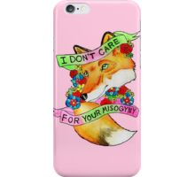 Feminist Fox v2 iPhone Case/Skin