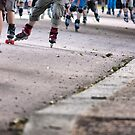 Rollerbladers by MatRicardo