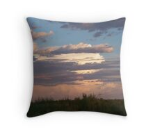 sunsetting Throw Pillow