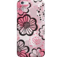 Pattern flowered iPhone Case/Skin