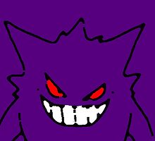 Gengar (Purple) by LucidSummations