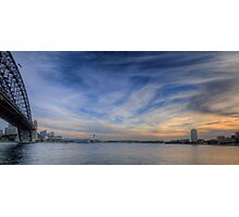 Paintbrush  - Sydney Harbour - The HDR Experience Photographic Print