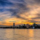 Harbourside  Memories - Sydney Harbour - The HDR Experience by Philip Johnson