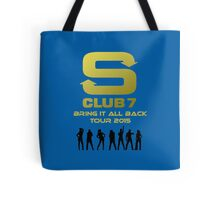 S Club 7 Bring It All Back Tour 2015 Tote Bag