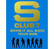 S Club 7 Bring It All Back Tour 2015 Photographic Print