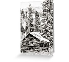 High Sierra Hideaway Greeting Card