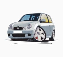 VW Lupo GTi Silver by Richard Yeomans