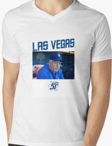 Wally Backman Mens V-Neck T-Shirt