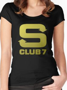 S Club 7 Shirt 1 Women's Fitted Scoop T-Shirt