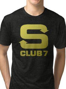 S Club 7 Shirt 1 Tri-blend T-Shirt