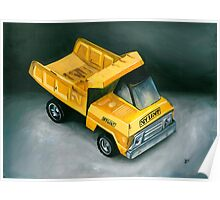 Toy Truck Poster