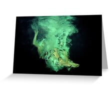 Underwater poetry Greeting Card