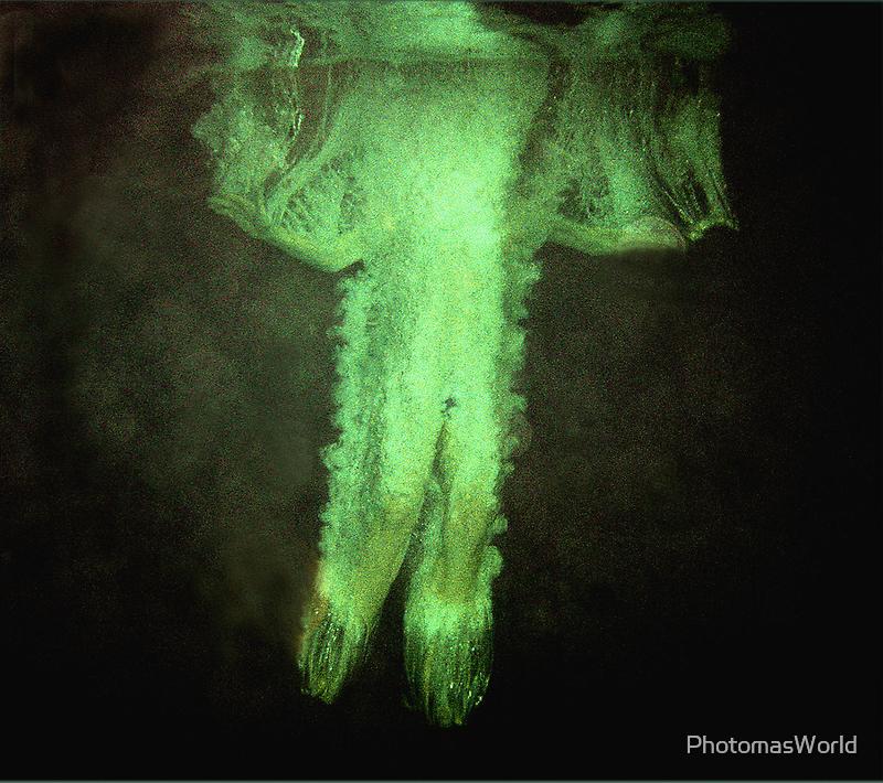 Underwater ghost by PhotomasWorld
