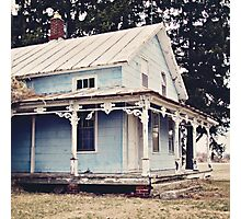 The Abandoned Dollhouse 3 Photographic Print