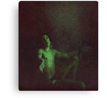 Underwater landing Canvas Print