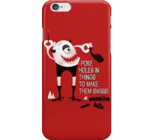 Swiss Happens (the Remake) iPhone Case/Skin