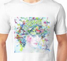 DIANA - Princess of WALES - watercolor portrait Unisex T-Shirt