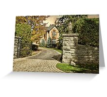 Rockliffe House - Ottawa Greeting Card
