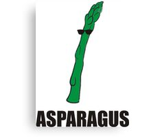 Cool Asparagus Canvas Print