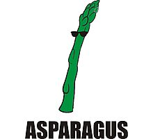 Cool Asparagus Photographic Print