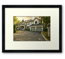 Late Afternoon Autumn in Rockliffe Park Framed Print