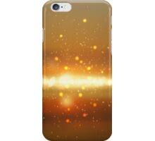 Abstract colorful bokeh background iPhone Case/Skin