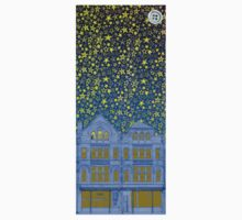 Cookes Building Starry Night Kids Tee