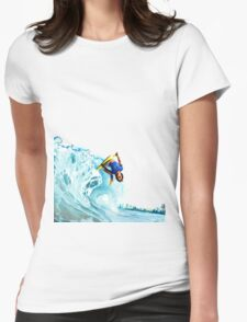 bodyboard Womens Fitted T-Shirt