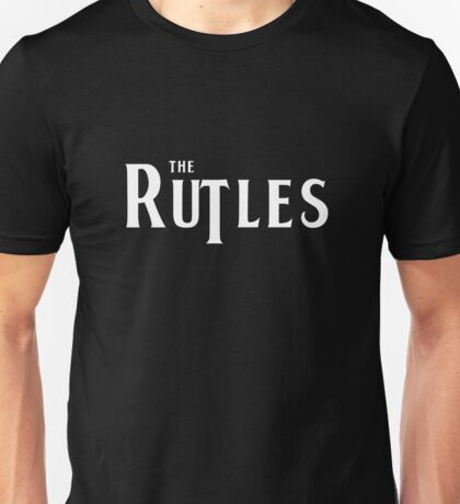 Rutles Logo (White Writing) Unisex T-Shirt