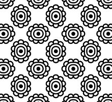 Ornamental seamless pattern by lantica