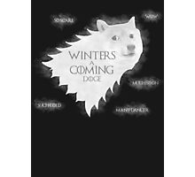 Winters a Coming Photographic Print